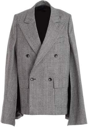 Comme des Garcons Junya Watanabe Junya Watanabe Extra-long Sleeved Oversized Checked Jacket