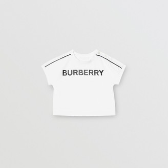 Burberry (バーバリー) - Burberry ロゴ コットンTシャツ