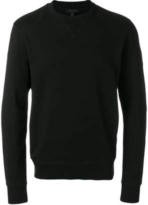 Belstaff logo patch sweatshirt