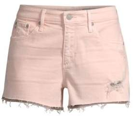 AG Jeans Bryn Ex-Boyfriend Cut-Off Denim Shorts