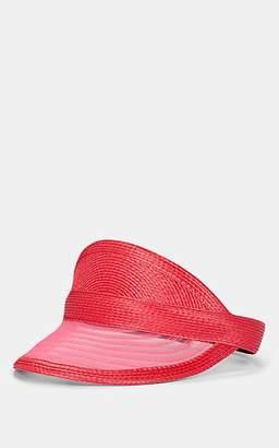 Eugenia Kim Women's Vicky Woven Visor - Red