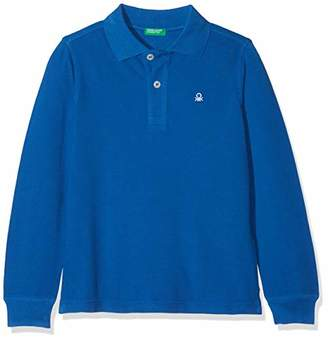 Benetton L / s Polo Shirt, Child, ), (Manufacturer Size: 10-11 Years)