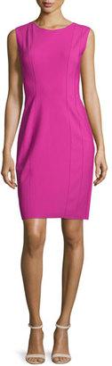 Elie Tahari Marley Sleeveless Sheath Dress, Lotus $398 thestylecure.com