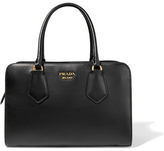 Prada - Inside Leather Tote - Black $3,580 thestylecure.com