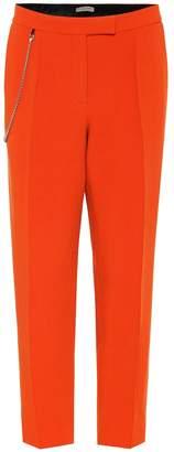 Bottega Veneta Wool-blend cropped pants