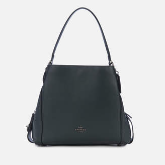 Coach Women's Polished Pebble Leather Edie 31 Shoulder Bag - Cypress