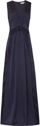 Reiss ODETTE LACE DETAIL MAXI DRESS Navy
