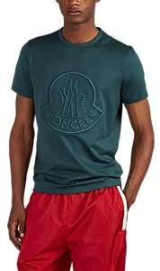 Moncler 2 1952 Men's Logo-Embroidered Cotton T-Shirt - Dk. Green