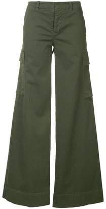 Nili Lotan flared cargo trousers