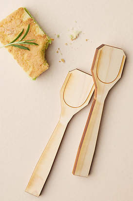 te+te Hinoki Cypress Wood Dessert Spoon-Making Kit