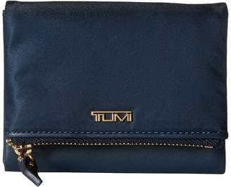Tumi Voyageur Flap Card Case Cosmetic Case