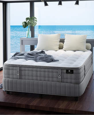 """Hotel Collection by Aireloom Handmade Plus 14.5"""" Cushion Firm Luxetop Mattress- Queen"""