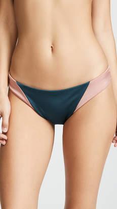 Tori Praver Swimwear Maelyn High Leg Cheeky Bikini Bottoms