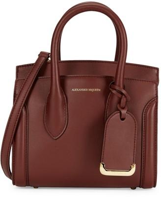 Alexander McQueen Heroine Leather Satchel