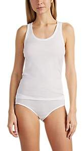 Skin Women's Pima Cotton Racerback Tank - White