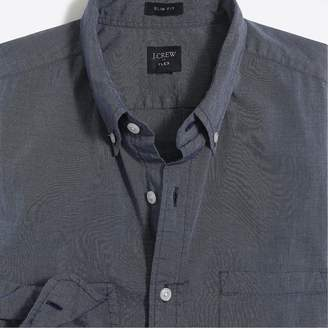J.Crew Tall slim-fit flex washed shirt in end-on-end cotton