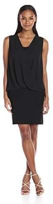 Karen Kane Women's Drape Front Dress