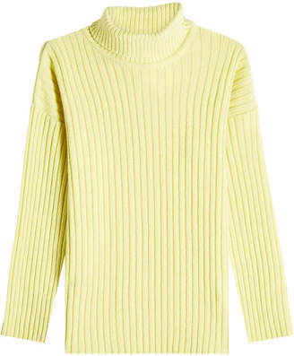 Our Legacy Turtleneck Pullover with Merino Wool, Angora and Cashmere