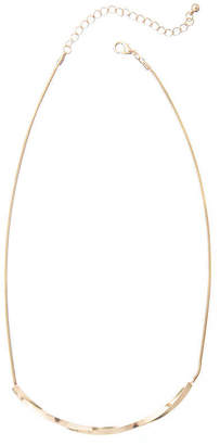 A.N.A Gold-Tone Bar Necklace