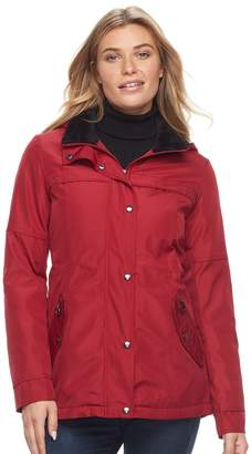 Women's Weathercast Hooded Plush-Lined Anorak