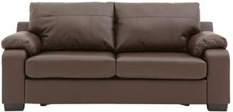 Very Dino Faux Leather Compact Sofa Bed