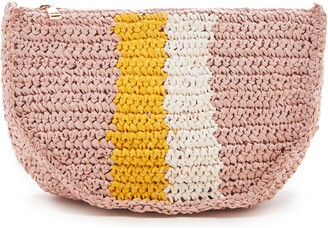 Sole Society Chade Stripe Woven Crossbody Bag