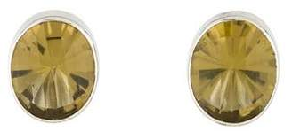 Stephen Dweck Quartz Clip-On Earrings