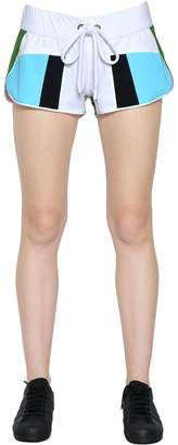 NO KA 'OI Honi Patchwork Nylon Shorts