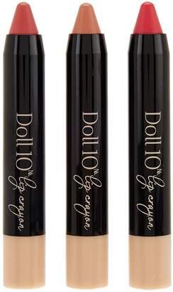 Doll 10 Gel Lip Crayon Trio