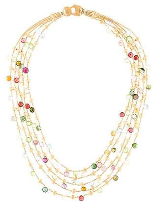 Marco Bicego 18K Multistone Paradise Five-Strand Necklace