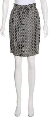 Gianni Versace Vintage Knee-Length Skirt