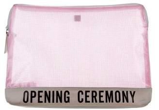 Opening Ceremony PVC Mesh Clutch