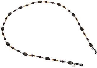 Corinne McCormack Women's Shanghai Black Oval Rosary Cases