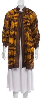 Diane von Furstenberg Short Linen Coat w/ Tags