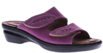 Spring Step Flexus by Slide Wedge Sandals - Aterie