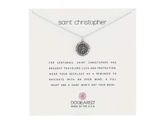 Dogeared Saint Christopher Travelers Reminder Necklace