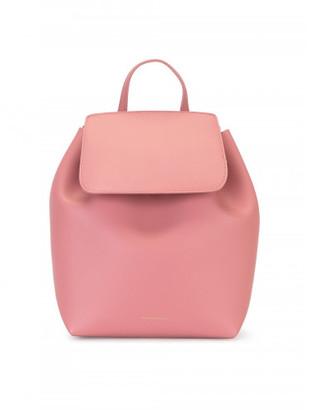 Mansur Gavriel mini drawstring backpack $795 thestylecure.com
