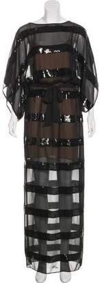 BCBGMAXAZRIA Moriah Embellished Dress