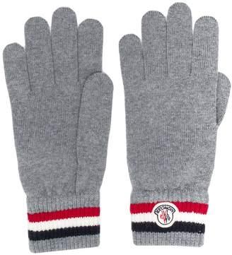 Moncler tri-stripe gloves