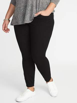 Old Navy High-Rise Smooth & Comfort Plus-Size Rockstar Jeans