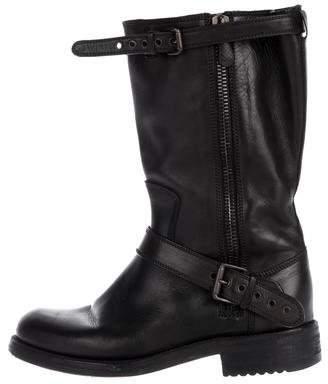 Bottega Veneta Leather Tall Boots