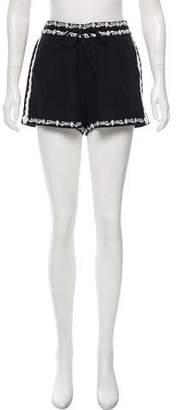 Ella Moss Embroidered Mini Shorts w/ Tags