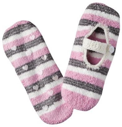 Xhilaration Juniors Cozy Valentine's Day Mary Jane Socks - Assorted Colors/Patterns