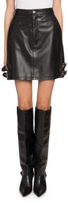 Altuzarra Lawrence Leather Skirt