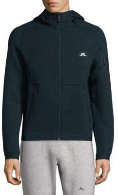 J. Lindeberg Active Athletic Hooded Jacket