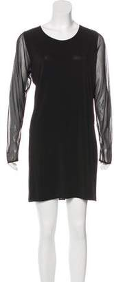Maison Margiela Long Sleeve Mini Dress
