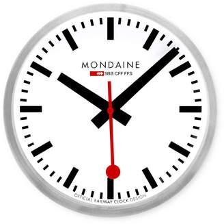 Mondaine (モンディーン) - モンディーン(MONDAINE) スイス レイルウェイ クロック シルバー 250mm