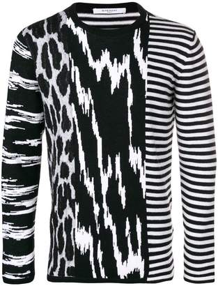 Givenchy animal print sweater