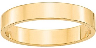 Generic 10KY 4mm LTW Flat Band Size 7