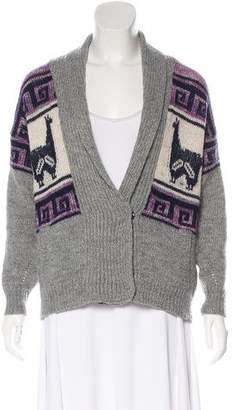 Etoile Isabel Marant Graphic Wool Cardigan
